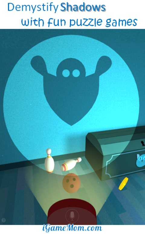 Demystify Shadows with fun puzzle games