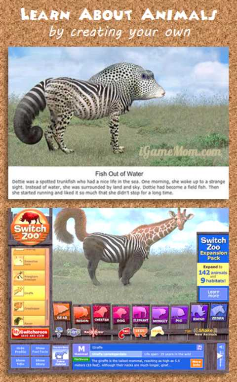 Free App Learn Animals by Creating Your Own