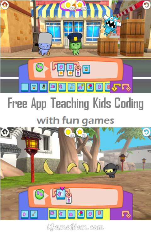 Free App Teaching Kids Coding with Fun Games