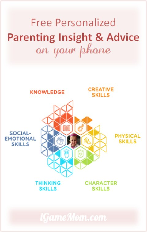 Free personalized parenting insight advice on your phone