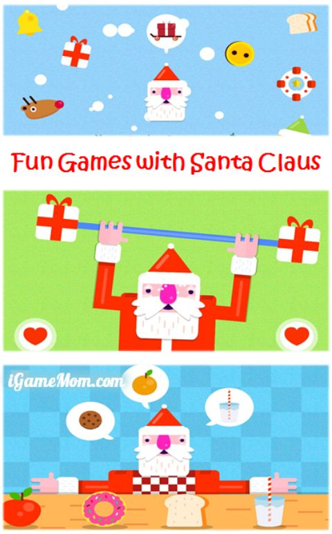 Fun Games with Santa Claus - Christmas App for Kid
