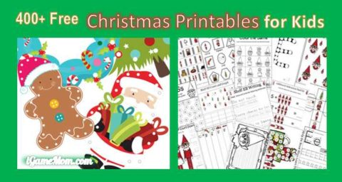 Kid Christmas Printable Worksheet