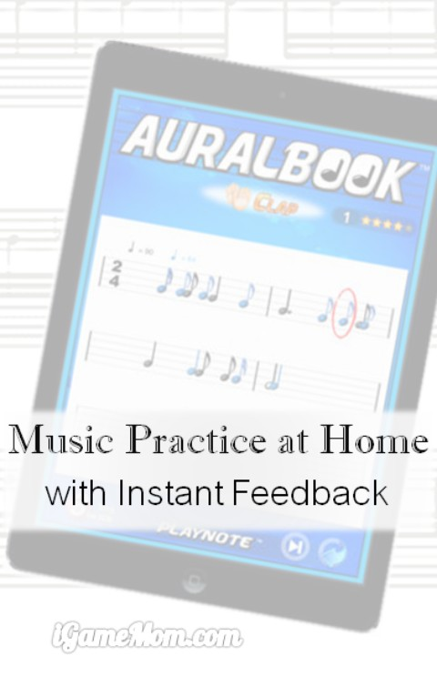 Music practice programs with instant feedbacks
