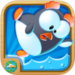 Fun Penguin Game for kids – Stay on the Ice post image