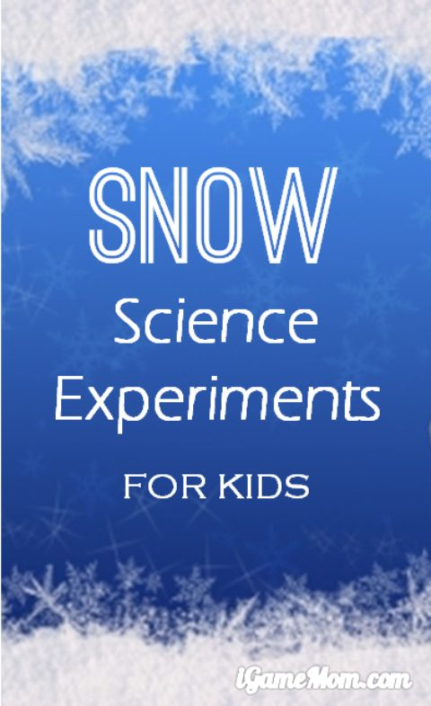 6 simple snow science experiments for kids - no preparation needed! Fun STEM activities encourage curiosity, and kids learn to hypothesize, observe, record result, and make conclusions. Wonderful ideas to have fun outdoor even when it is cold, to cultivate kids' love of nature and science.