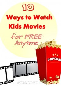 10 Ways to Watch Good Movies for Kids for Free Anytime