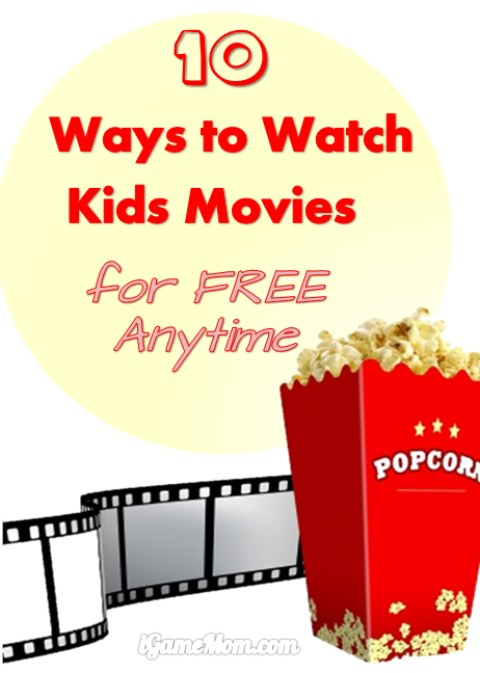 10 Ways to Watch Good Movies for Kids for Free Anytime - With the new technology available, there are surprising ways to access high quality movies on different devices. Great educational resources for school or home family movie nights.