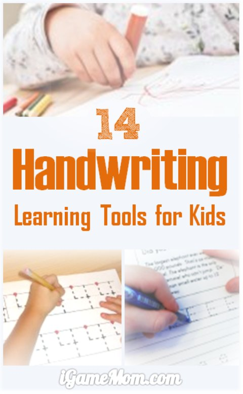 Best Learning Tools for Kids - Handwriting Practice | iGameMom