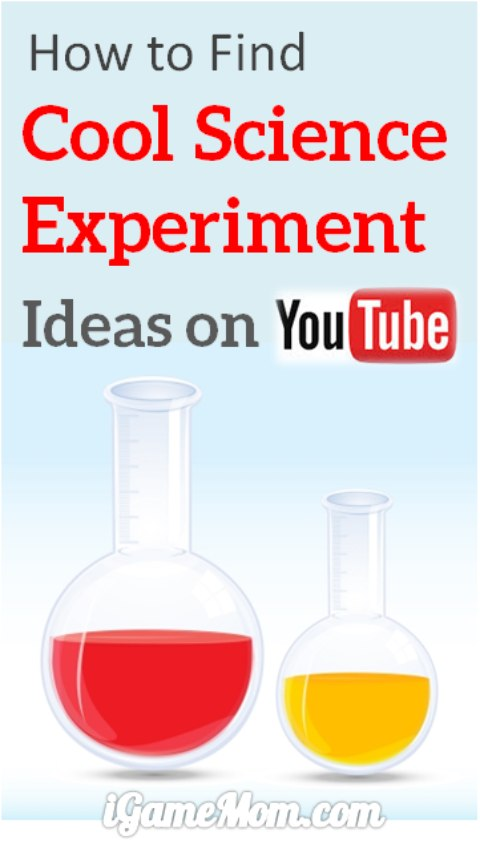 9 YouTube Channels for hands-on Science Experiment videos for Kids, all are simple experiments you can do at home in your kitchen.
