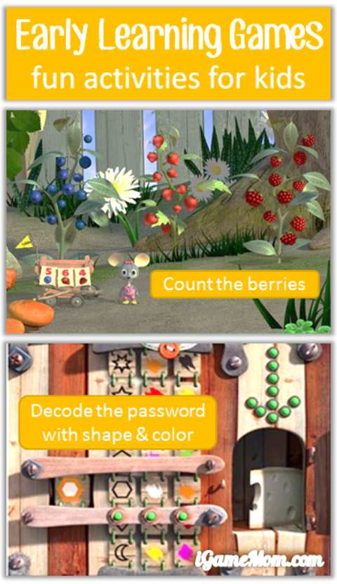 Fun early learning app for young children