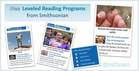 Smithsonian Tribune free leveled reading non fictions for kids