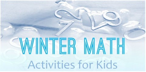 Winter math activites for kids