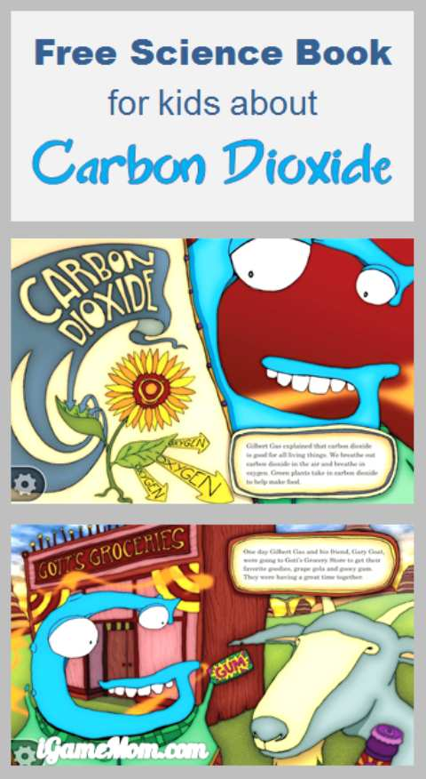 free science book for kids about Carbon Dioxide