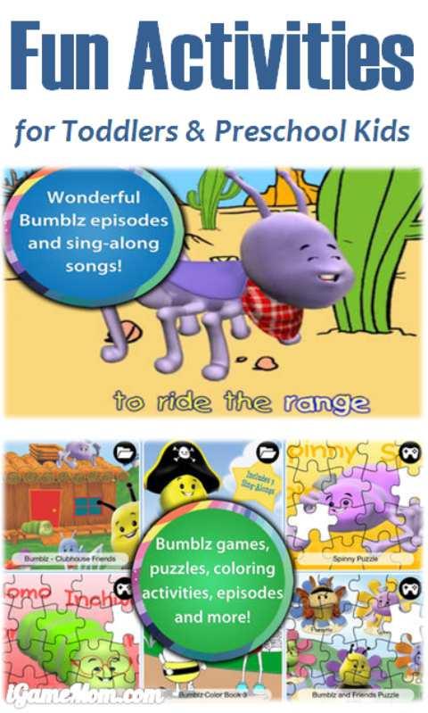 free app of tons fun activities for toddlers preschool kids