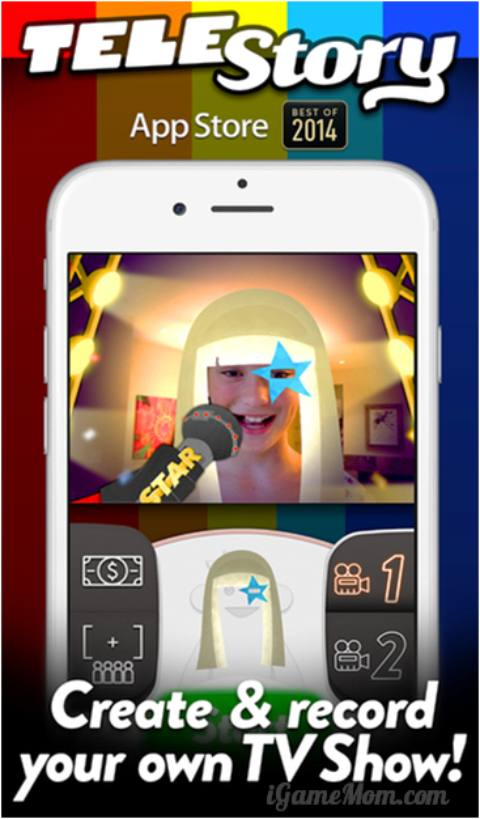 Create your own TV shows with free app TeleStory