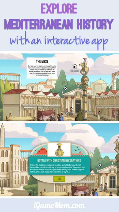 Explore mediterranean history with interactive app for kids Medelia