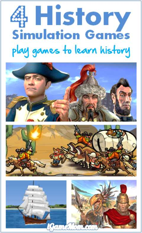 History Simulation Games for Kids to Learn History via Play