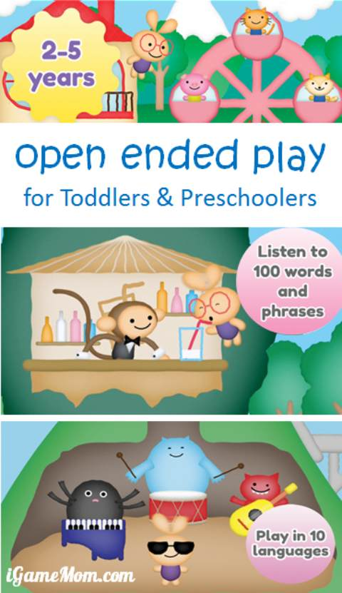 Open ended play with Eli the Explorer App for Toddlers and Preschoolers