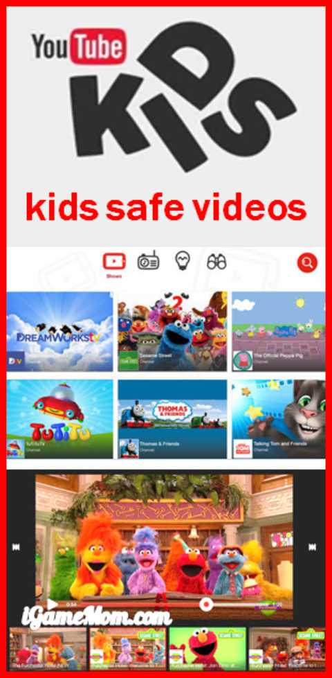 YouTube Kids free app filters videos to be kids safe