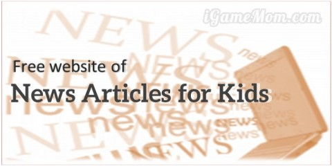 free website news articles for kids - youngzine