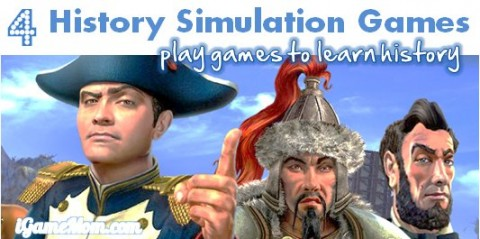 history simulation games for kids