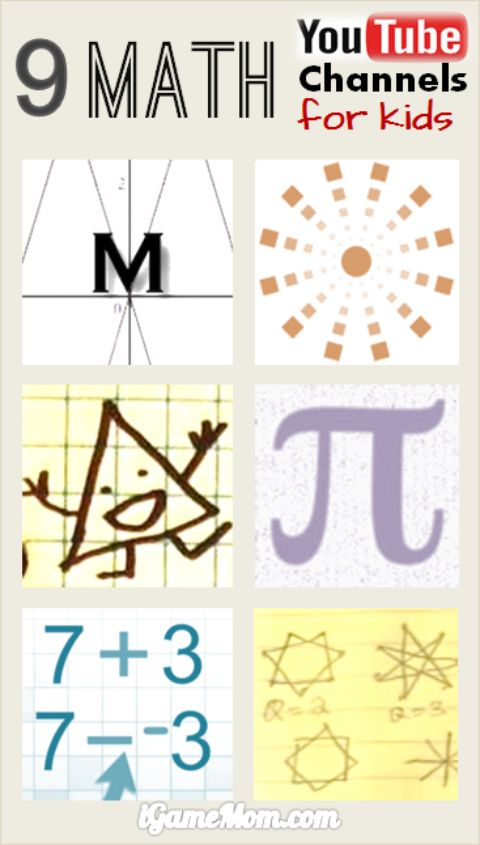 Math Youtube: 9 Fun Math YouTube Channels For School Age Kids