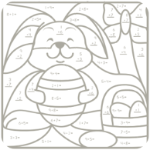9 Free Bunny Math Printable Worksheets for Kids post image
