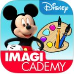 Mickey's Magical Arts World by Disney Imagicademy app series