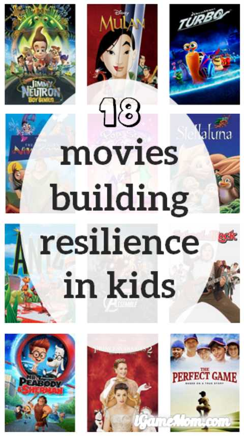 movies build resilience kids