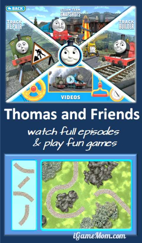 Thomas and Friends Watch and Play App for Kids