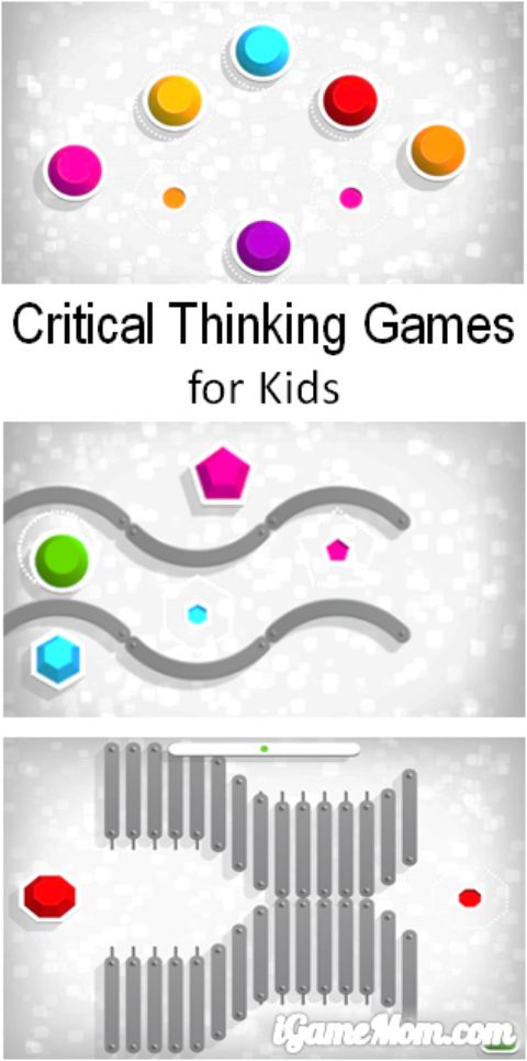 critical thinking games for kids