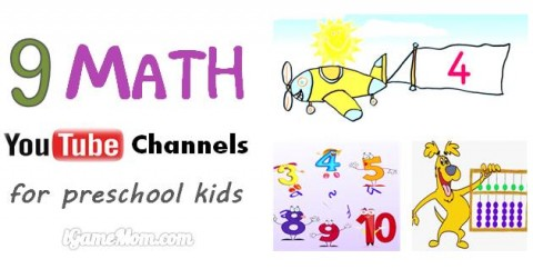 math YouTube channels for preschool kid