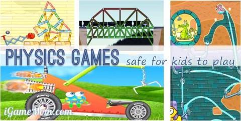 physics games for kids - apps websites