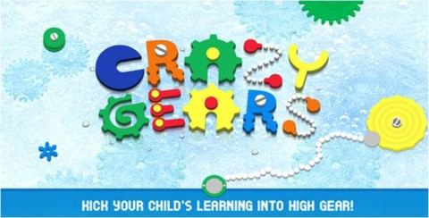 Crazy Gears App for Kindergarten Kids