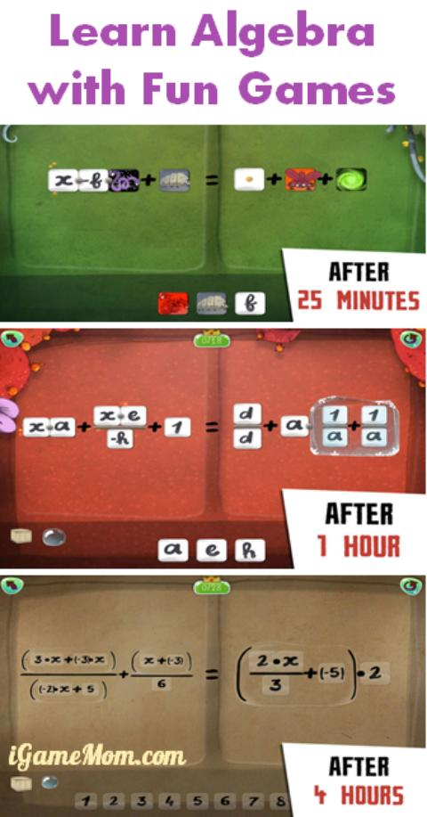 Learn Algebra with fun games - DragonBox Algebra app for kids