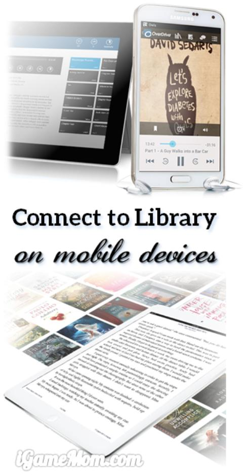 OverDrive free app connects to library on mobile devices and computers