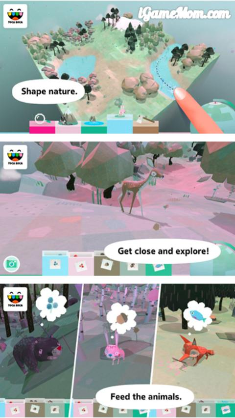 Explore the nature with Toca Nature app