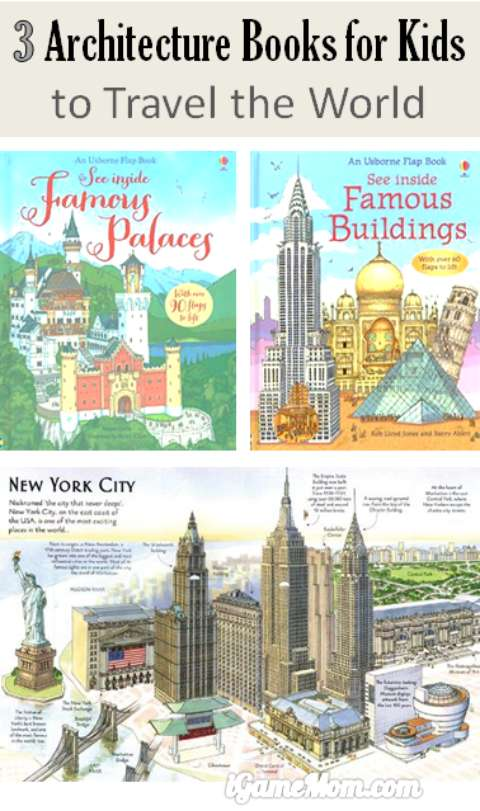 architecture books for kids to travel the world
