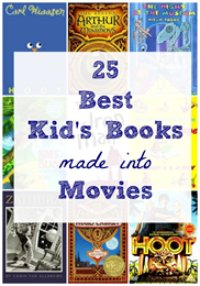 best books made into movies for kids
