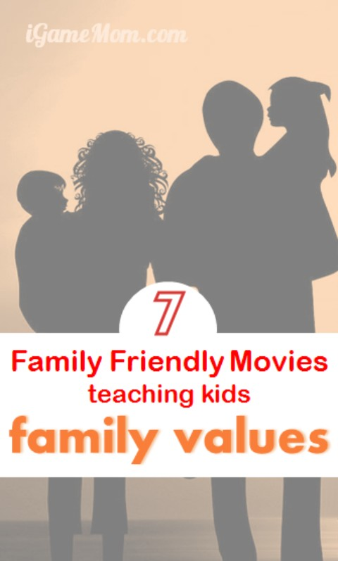 With society and family structures change so much over time, family values are changing too. How often do you talk with kids about family values? How do you get it started? These 7 family friendly movies are great to watch with kids and can help you to have an easy start on your family value talk.