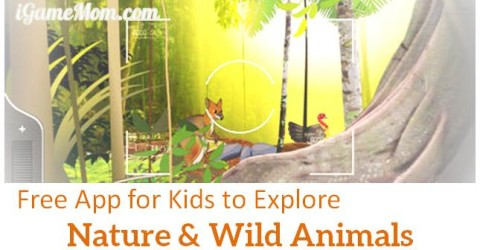free app WilderQuest for kids to explore nature and wild life