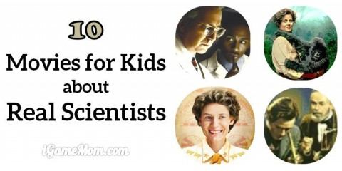 movies for kids about scientists