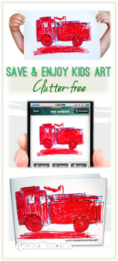 save enjoy kids art clutter free with artkive app