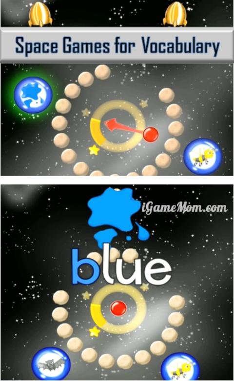 ABC Galaxy App for Kids - learn alphabet vocabulary with fun space games