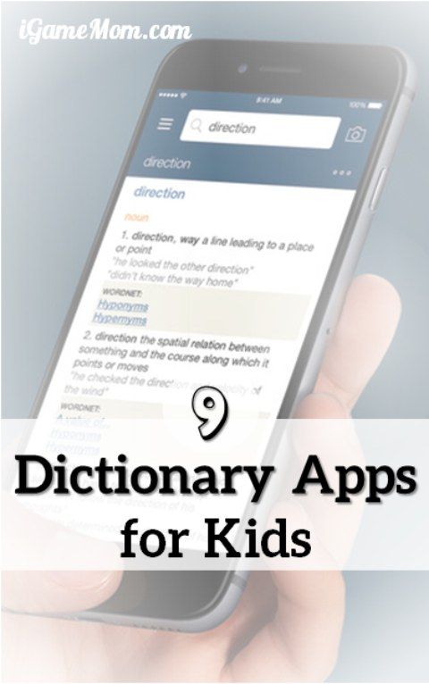 Dictionary Apps for Kids from preschool to college students