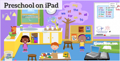 Grandma's Preschool fun app for kids