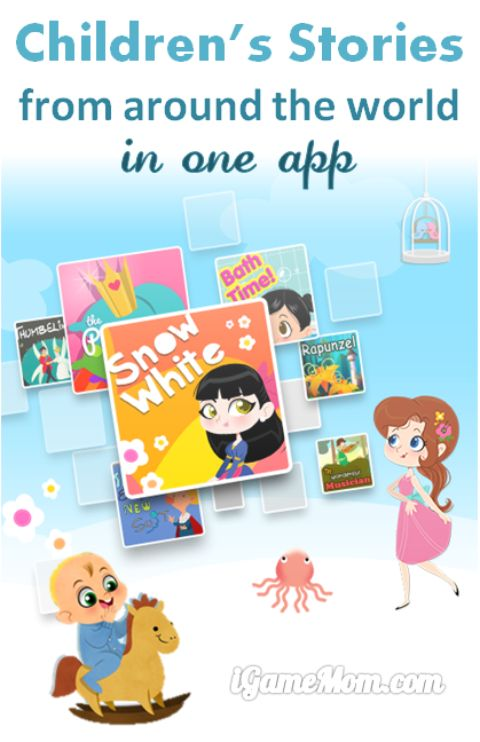 children books from around the world in one app