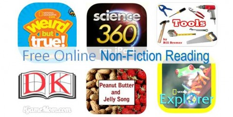 free online non fiction for kids