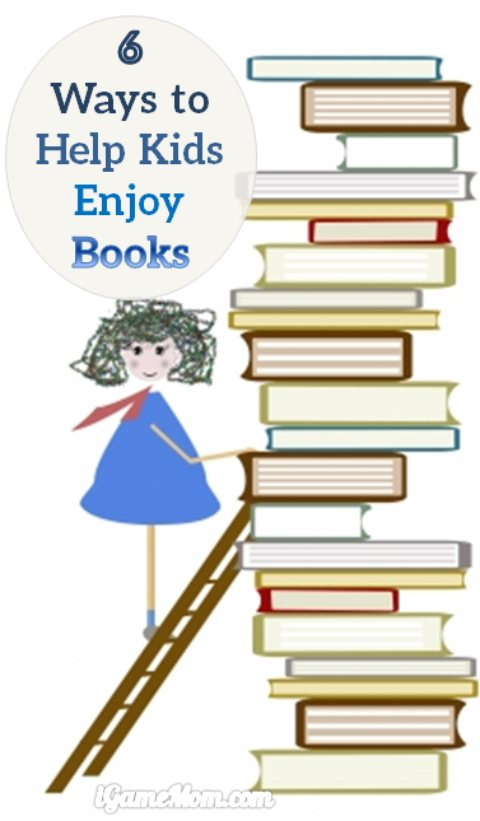 how to help kids enjoy books at a young age