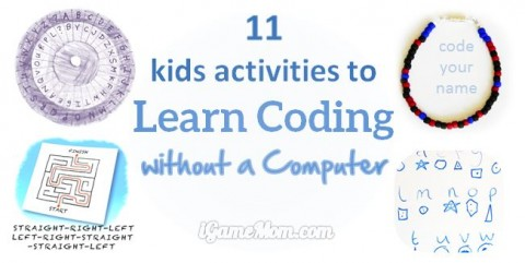 kids activities to learn computer coding without computers